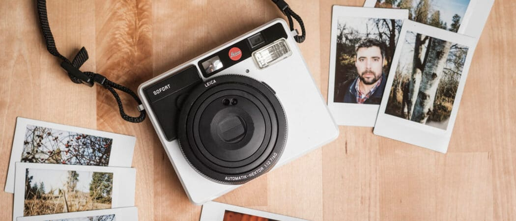 8 лучших фотоаппаратов моментальной печати